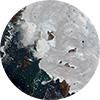 Greenland Ice Melt Circle