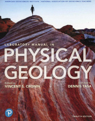 Lab Manual in Physical Geology 12th edition cover.