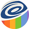 Statistical Vignette Logo Circle