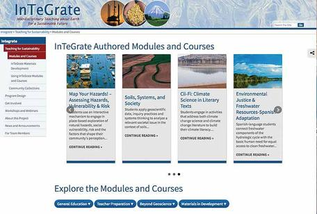 InTeGrate Modules and Courses