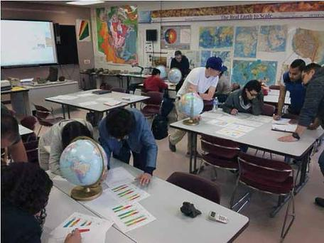 Students at El Paso Community College