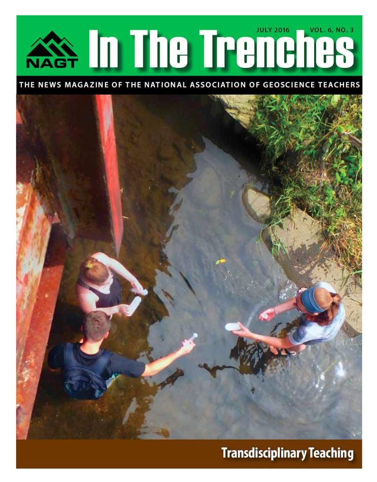In the Trenches - July 2016 Cover