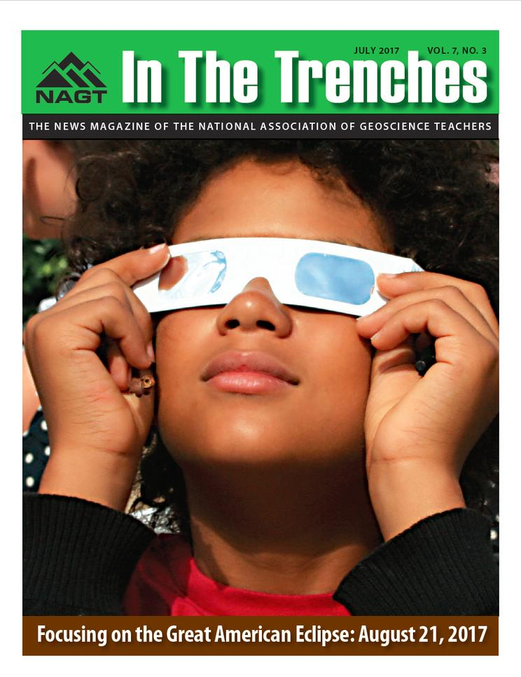 July 2017 Trenches Cover - Focusing on the Great American Eclipse: August 21, 2017
