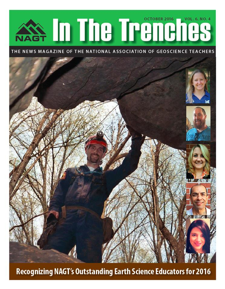 In the Trenches - Oct 2016 Cover
