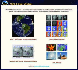 GOES-R Series Webapps