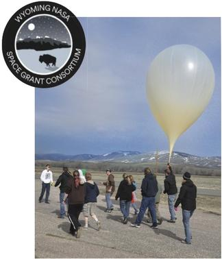 High-altitude balloon launch