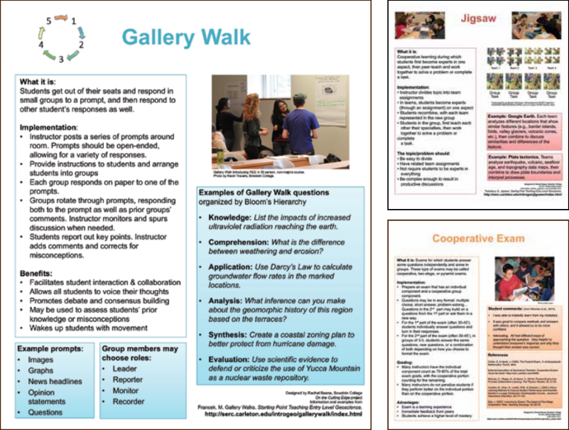 Active Learning Via Earth Science Posters