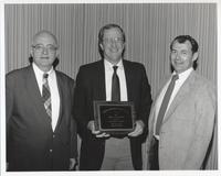 Richard A. Kerr Recieving James Shea Award