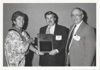 Stephen Jay Gould Recieving James Shea Award