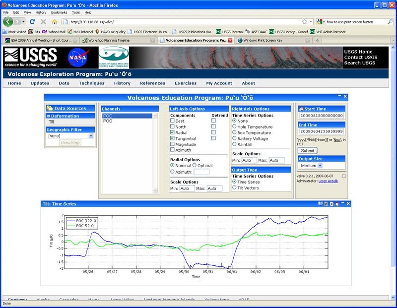 VEPP data page