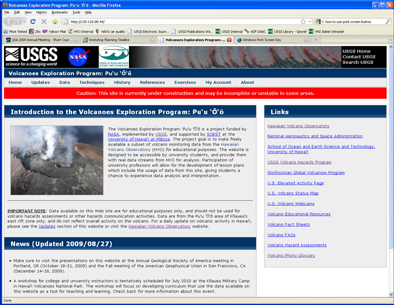 VEPP homepage