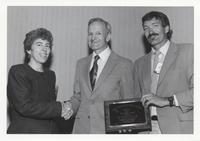 William Bull Recieving Neil Miner Award