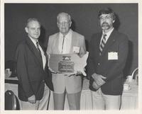 William Furnish with Neil Miner Award