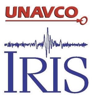 UNAVCO/IRIS logo