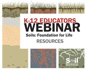 Soils: Foundation for Life Webinar