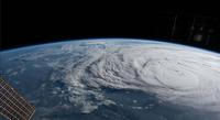 Hurricane Harvey from the ISS