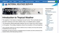 JetStream Tropical Weather
