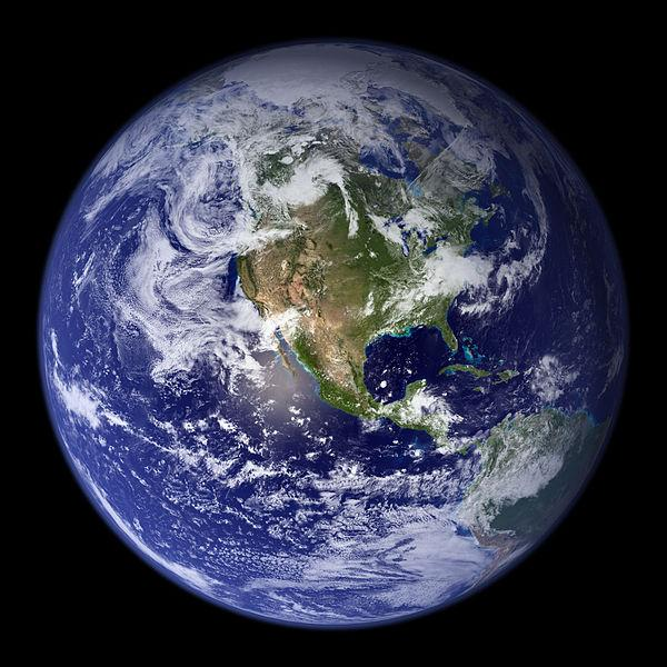 NASA's Blue Marble True Color Image of Earth