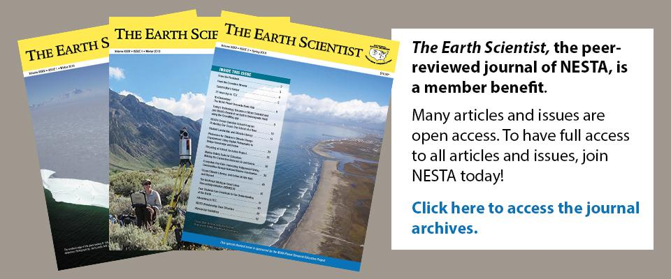 The Earth Scientist, a NESTA benefit
