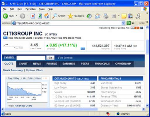Corning Inc. Stock Quote