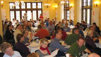 Crowd at Quirk-PKAL Workshop 08