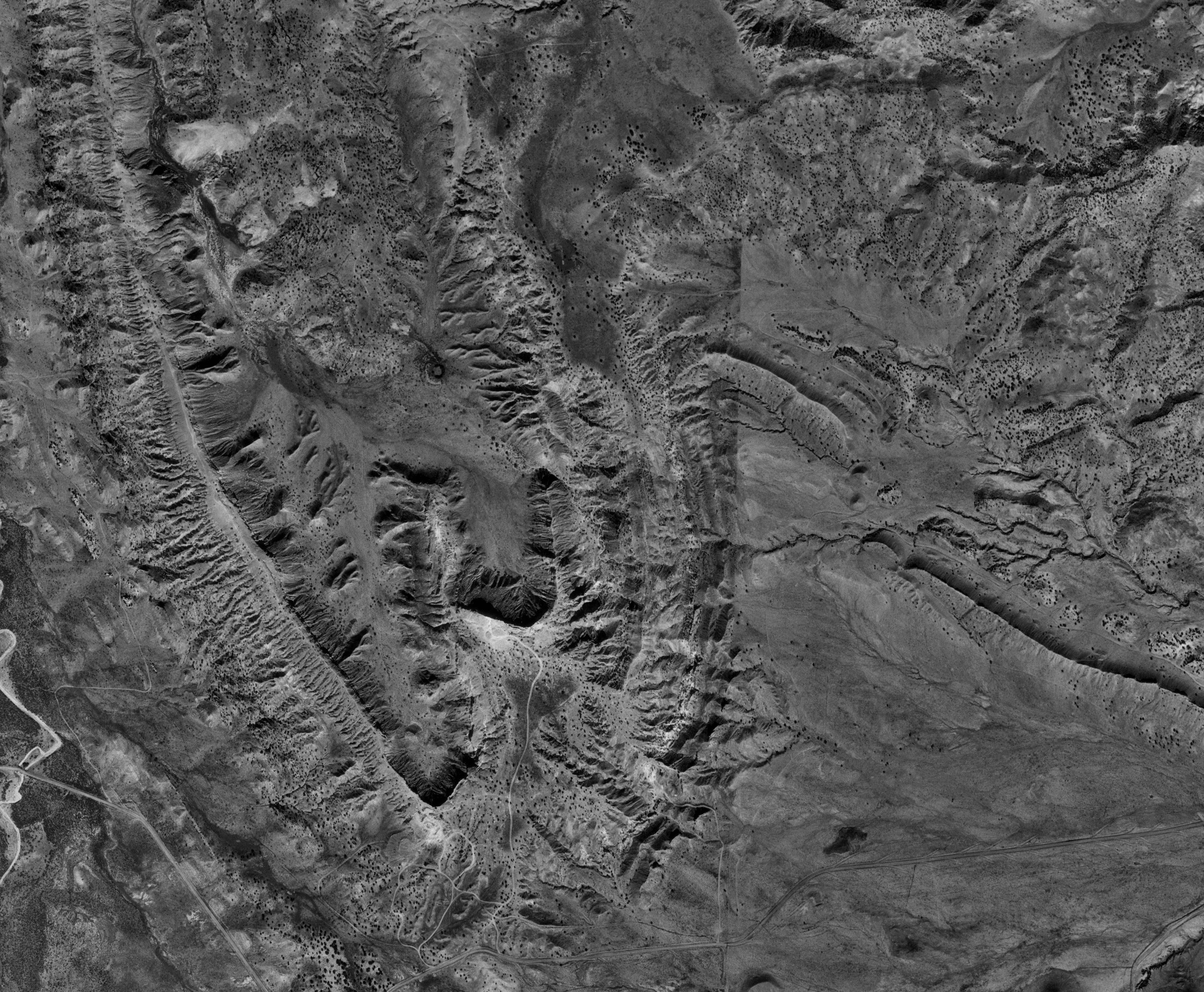 Aerial Photography White Mesa San Ysidro New Mexico
