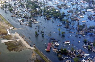Effects of Hurricane Katrina in New Orleans