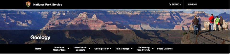 NPS Geoheritage Banner