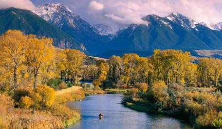 Paradise Valley, Yellowstone River, MT