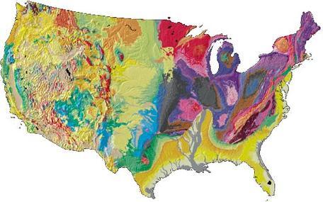 U.S. Geoheritage Map