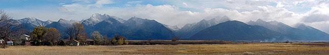 Mission Range panorama.