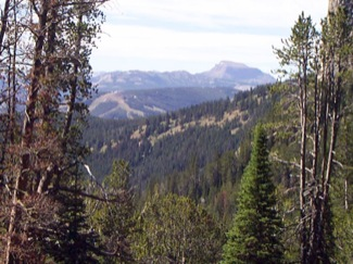Bear Basin Looking South,to Sphinx