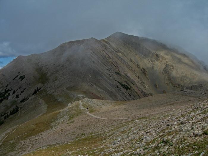 below sacagawea summit looking north