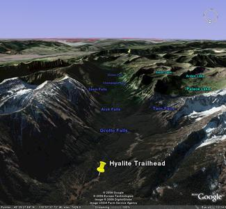 Hyalite Canyon Google