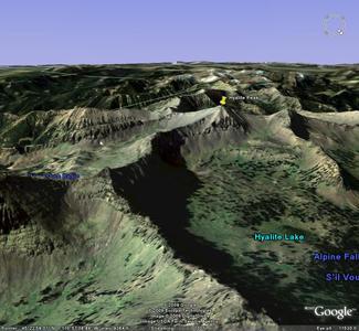 Hyalite Peak Google