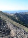 Hyalite Peak, looking north