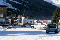 Cooke City at Northeast entrance to Yellowstone National Park.