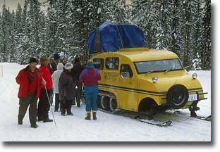 Yellowstone snowcoach.