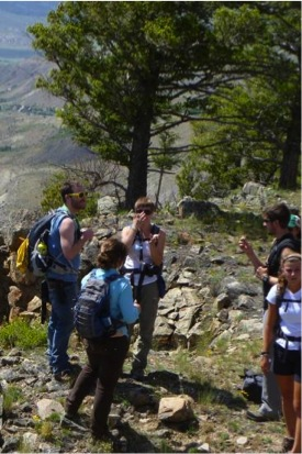 2010 REU Students in the Field