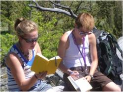 2011 REU Students in the Field