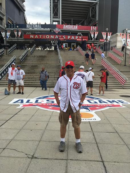 Dan Ferandez at 2018 MLB All Star Game
