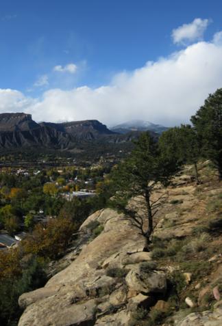 Animas River valley in Durango
