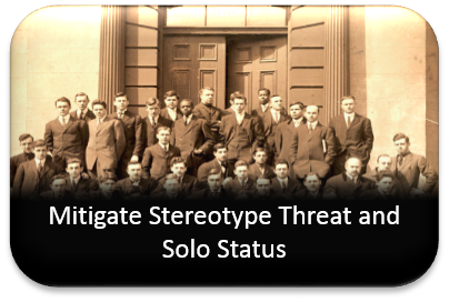 Mitigate Stereotype Threat and Solo Status