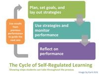 The cycle of self-regulated learning