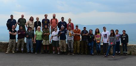 "The 2014 ""Border to Beltway"" field exchange involved a diverse group of students from two community colleges"