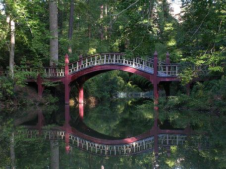 Crim Dell Bridge - College of William and Mary