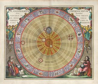 Andreas Cellarius: Harmonia macrocosmica seu atlas universalis et novus, totius universi creati cosmographiam generalem, et novam exhibens
