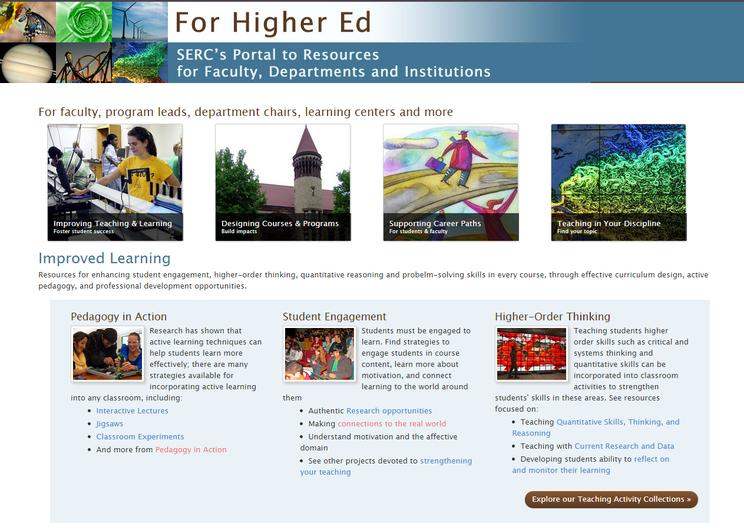 Higher Ed Portal Screenshot