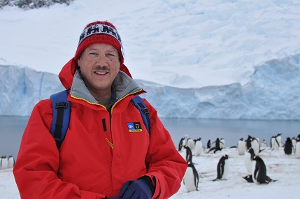 Al Trujillo in Antarctica
