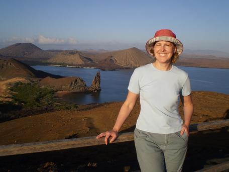 Erica in Galapagos